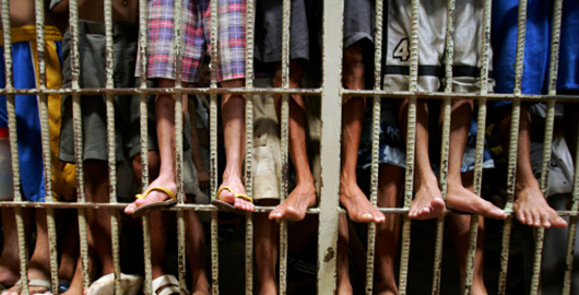 Prisoners Live In Cells Of Human Misery In Overcrowded Manila Jail